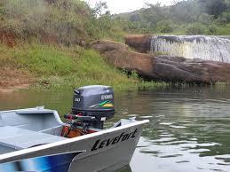 Barco Leveforto com Motor de popa Yamaha 30 HP