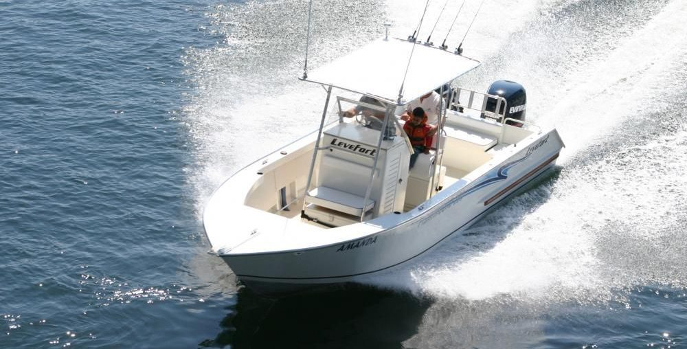 Lancha Levefort de Alumínio Fishing