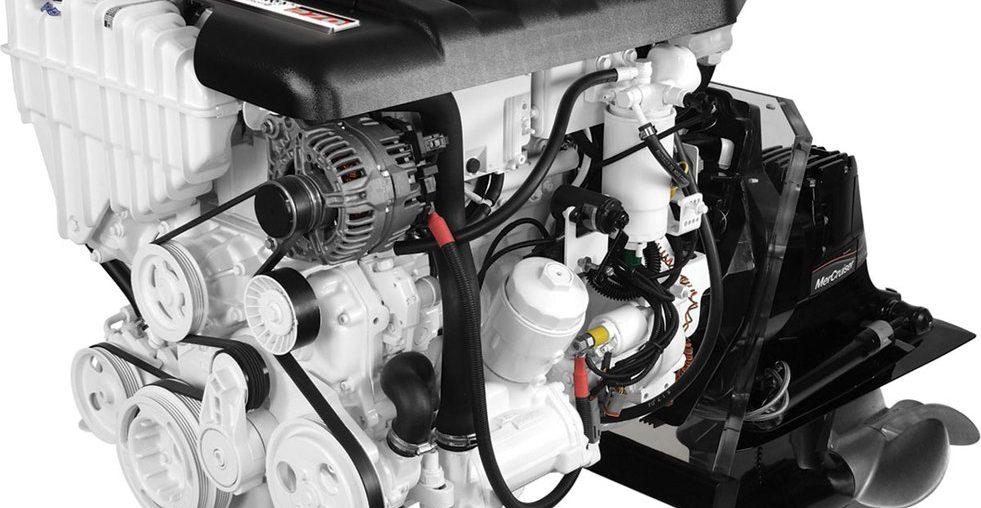 Motor de Centro Mercruiser Diesel